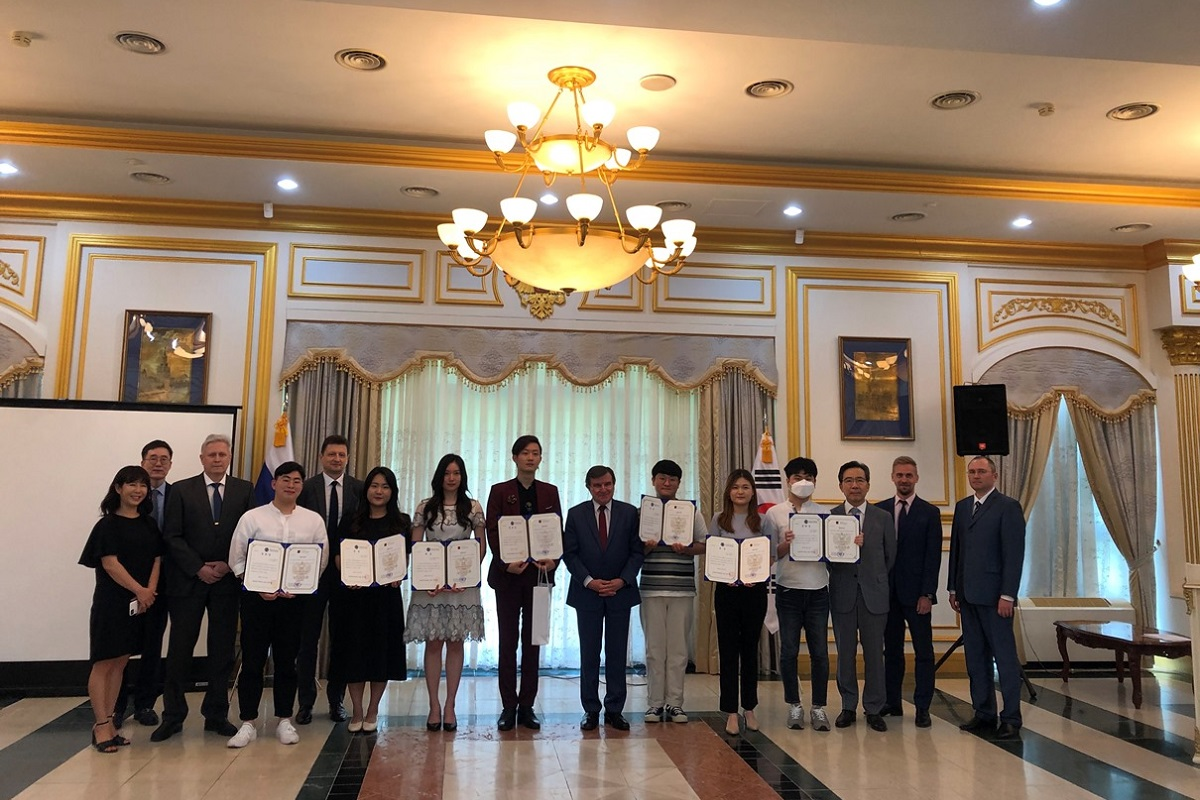 В Республике Корея при участии СПбГУ прошел конкурс на знание русского языка