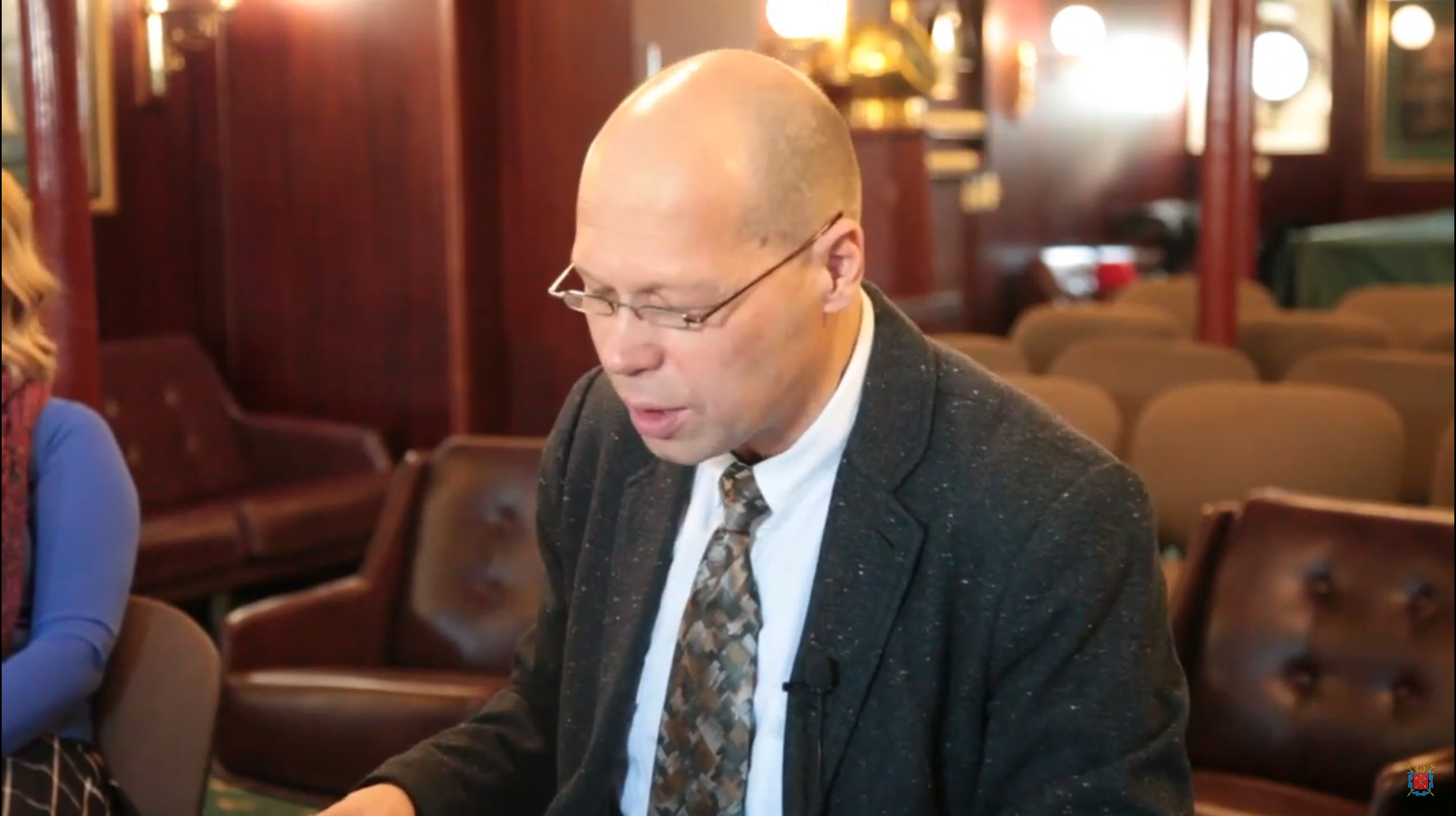 Комитет по внешним связям СПб: Сергей Курбанов об международной помощи морякам крейсера «Варяг»