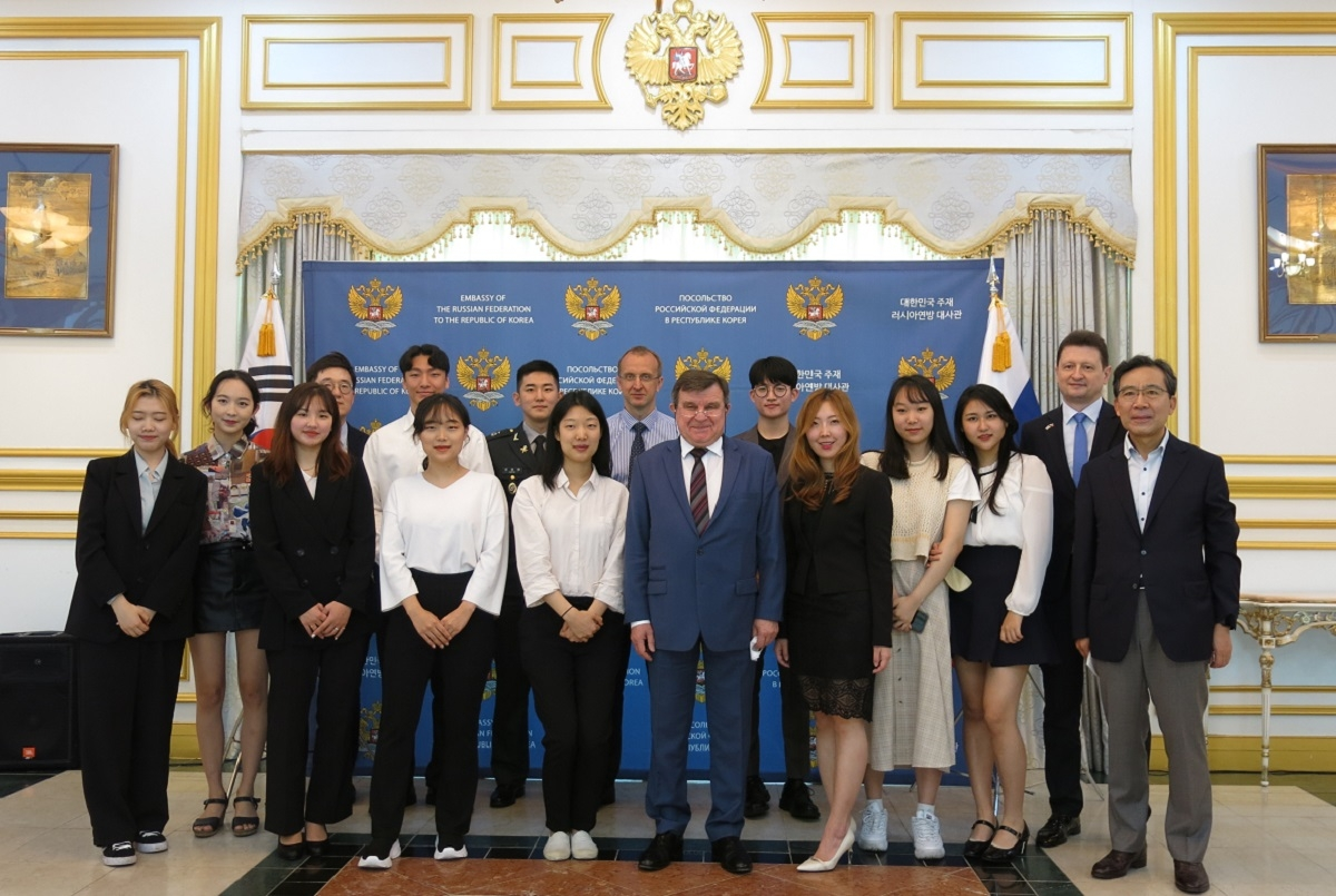 Winners of the Russian language contest in the Republic of Korea are announced