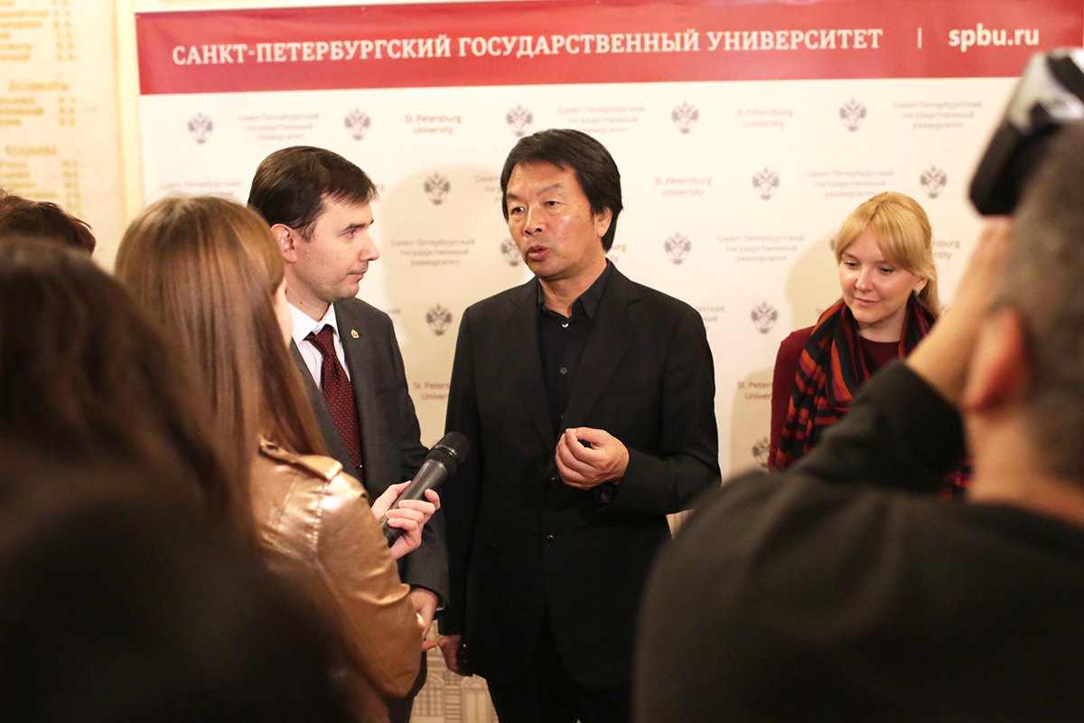 Писатель Лю Чжэньюнь: «Я приехал в Россию по стопам своих персонажей»