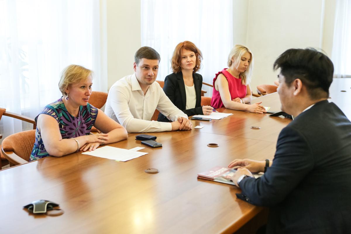 СПбГУ заинтересован в развитии отношений с южнокорейскими работодателями