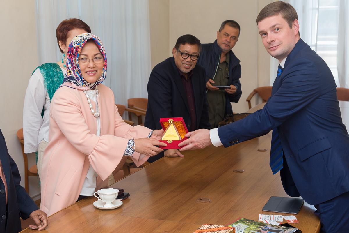Санкт-Петербургский университет налаживает связи с учеными Индонезии