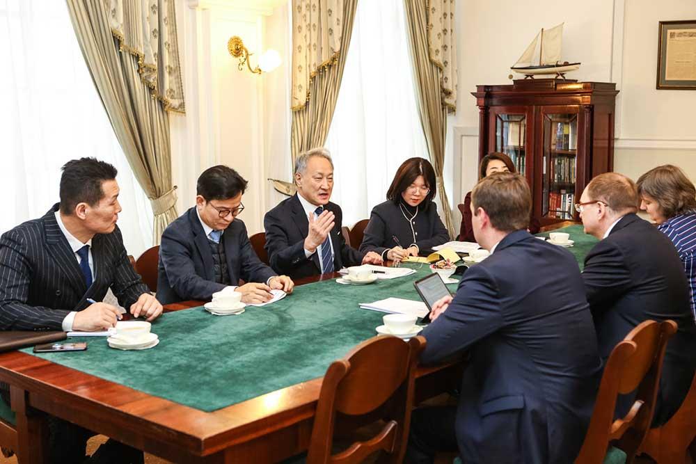 Korean Ambassador to Russia: 'The foundations of Korean studies were laid at St Petersburg University'
