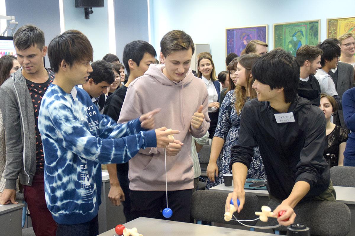 Цикл встреч со студентами из Японии