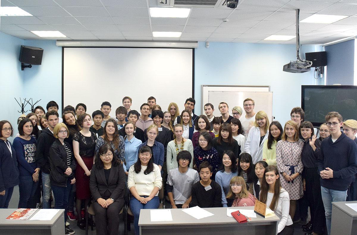 Цикл встреч студентов СПбГУ и вузов Японии