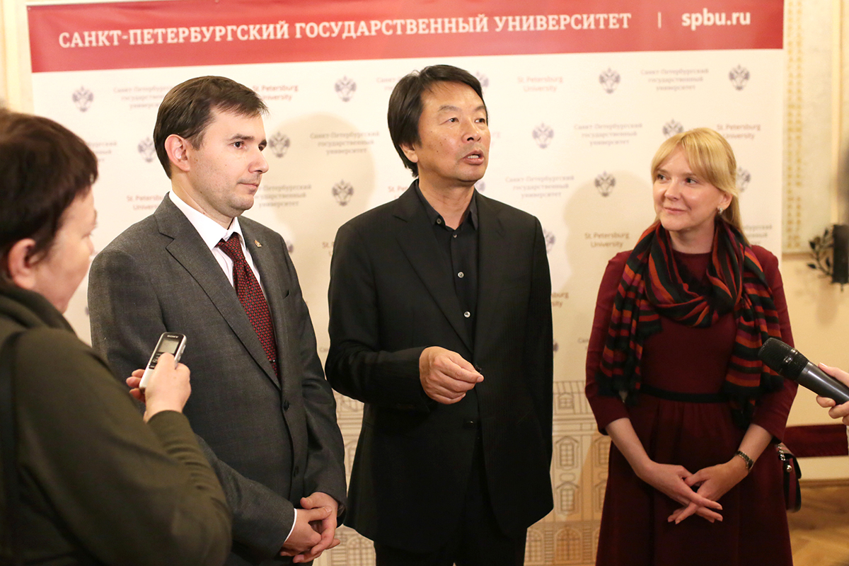 Liu Zhenyun: I come to Russia following the steps of my books