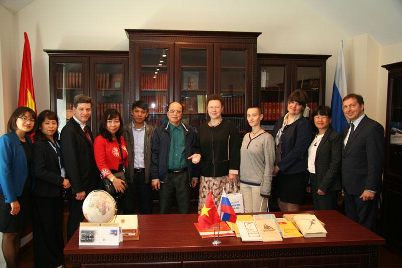 Библиотека СПбГУ налаживает сотрудничество с Мемориалом Хо Ши Мина