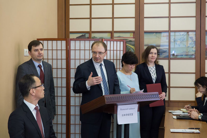 St Petersburg University opens the first in Russia Japanese cabinet