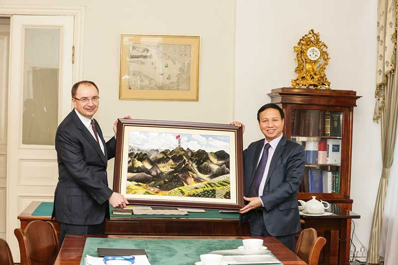 SPbU strengthens cooperation with the Socialist Republic of Vietnam