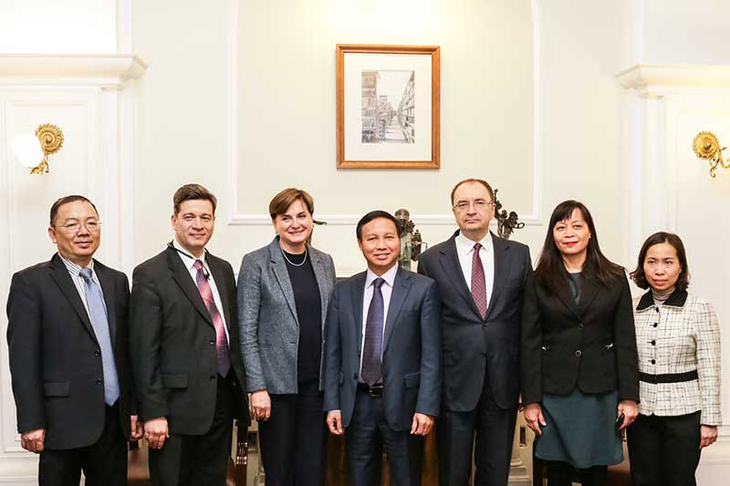 СПбГУ расширяет сотрудничество с Вьетнамом