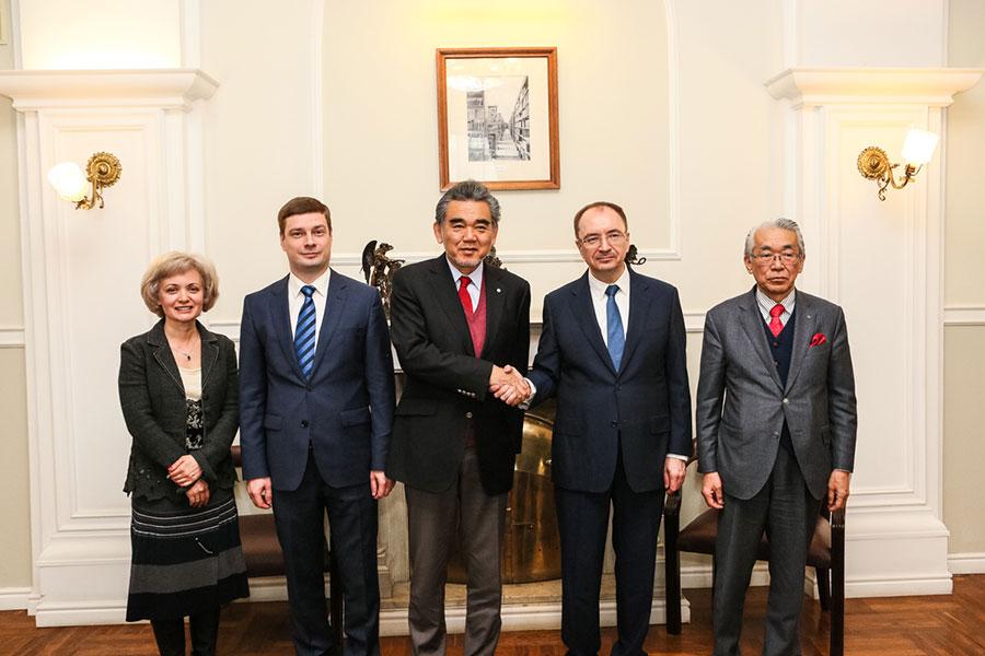 СПбГУ подписал соглашение о сотрудничестве с Университетом Хиросимы