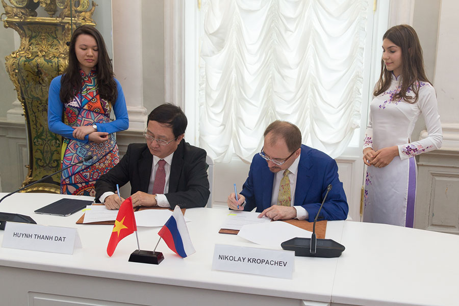 SPbU and Viet Nam National University Ho Chi Minh City signed Memorandum of Understanding