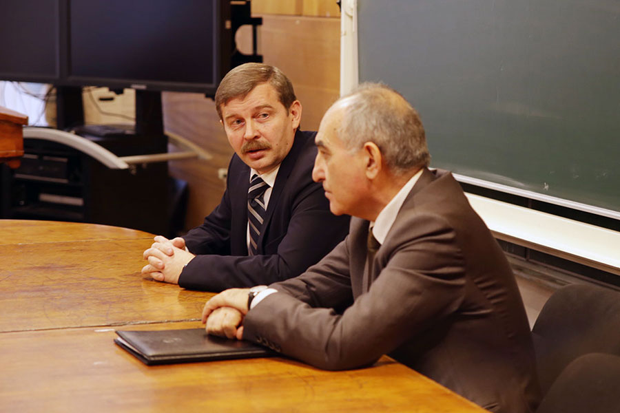 The Consul General of Turkey has visited St Petersburg University