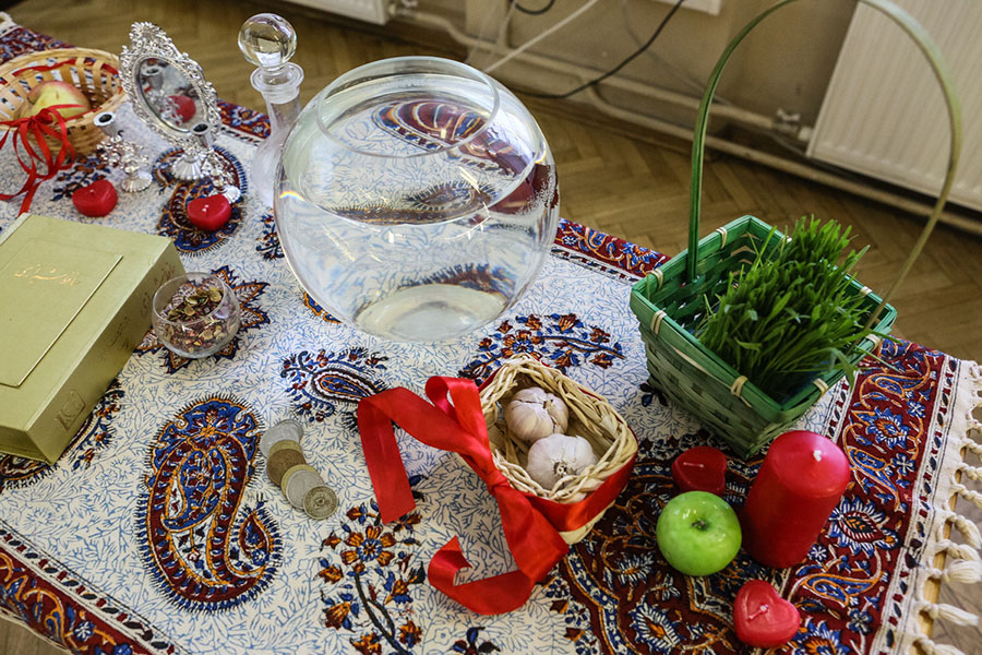 Nowruz is the time to meet with friends