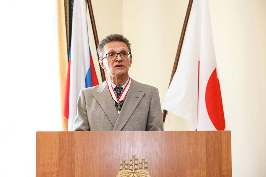 Профессор СПбГУ Александр Филиппов удостоен ордена Восходящего солнца