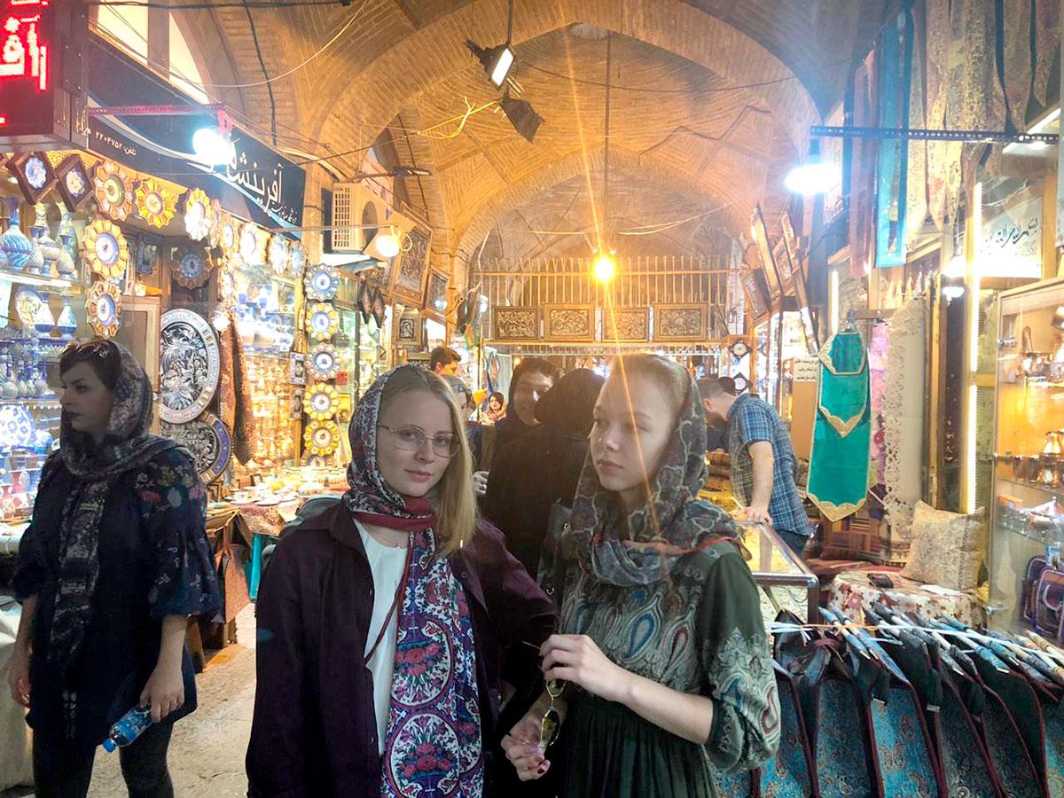 Обучающиеся СПбГУ рассказали о стажировке в Иране