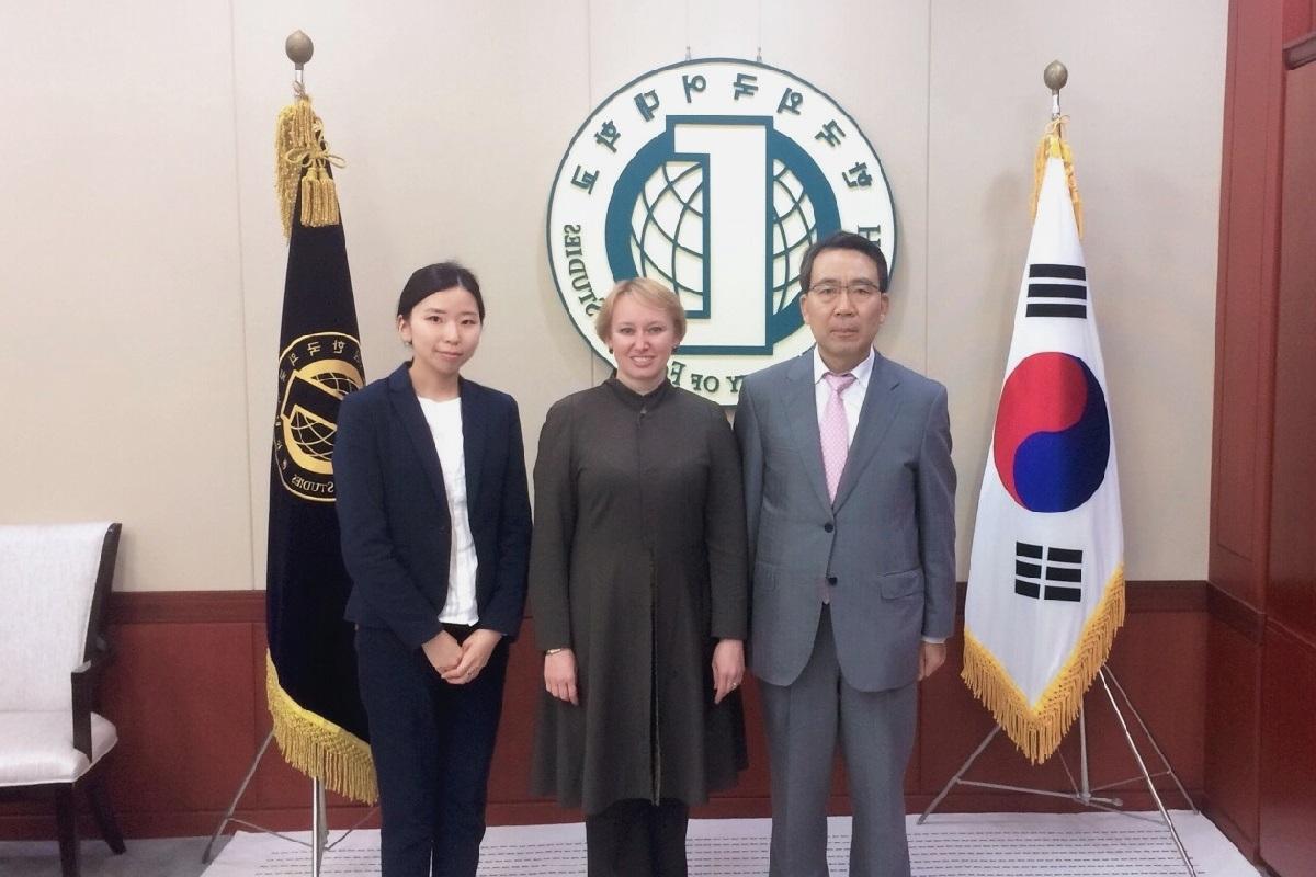 Представительство СПбГУ в Корее: год спустя