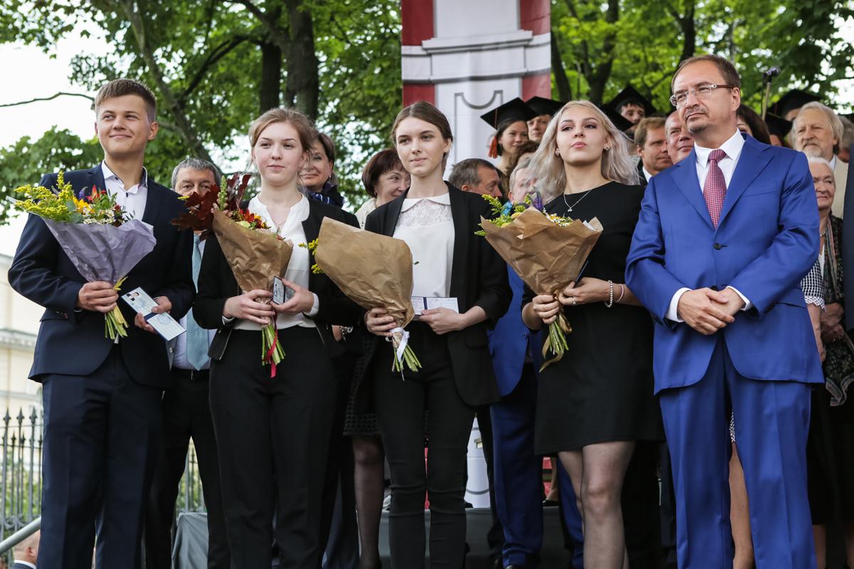 В СПбГУ стартовал 293-й учебный год