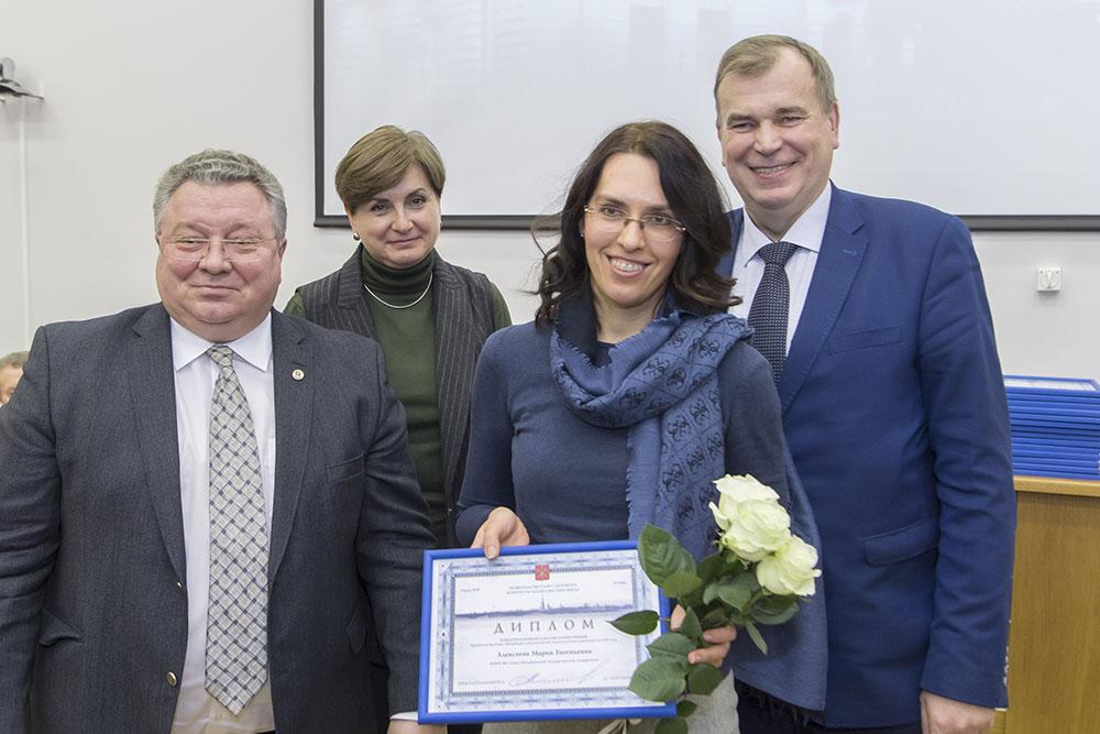 Мария Алексеева стала лауреатом премии Правительства Санкт-Петербурга