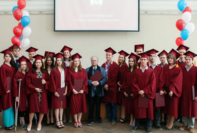 Вручение дипломов выпускникам 2017 года