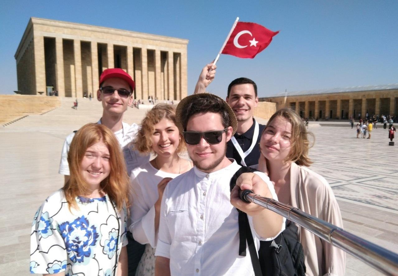 Универсанты − на летней школе тюркологии в Анкаре