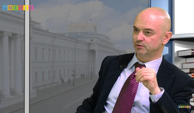 UNIVER TV: Гость студии - профессор СПбГУ Александр Сторожук
