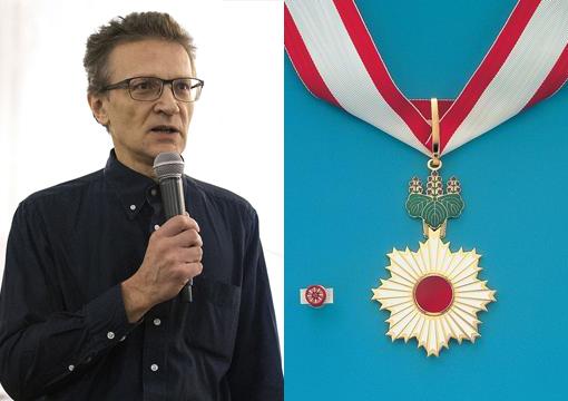 Александр Филиппов - кавалер Ордена восходящего солнца