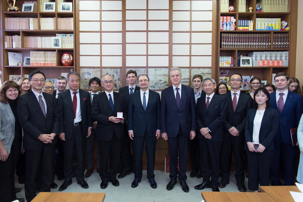 В СПбГУ открылся первый в России Японский кабинет