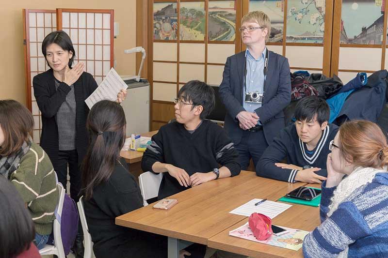 Delegation of University of Tsukuba visited SPbU