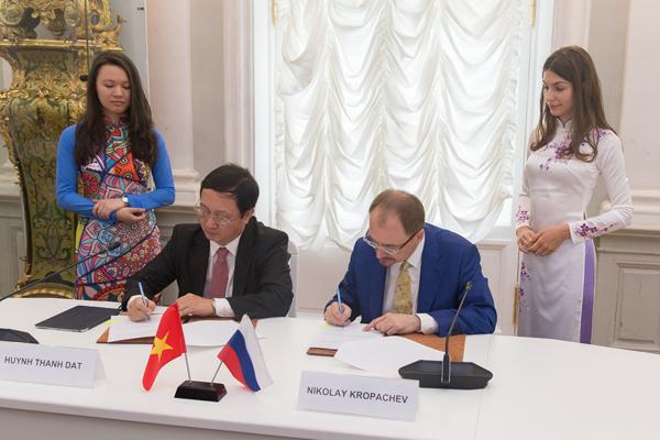 СПбГУ и Государственный университет Хошимина подписали меморандум