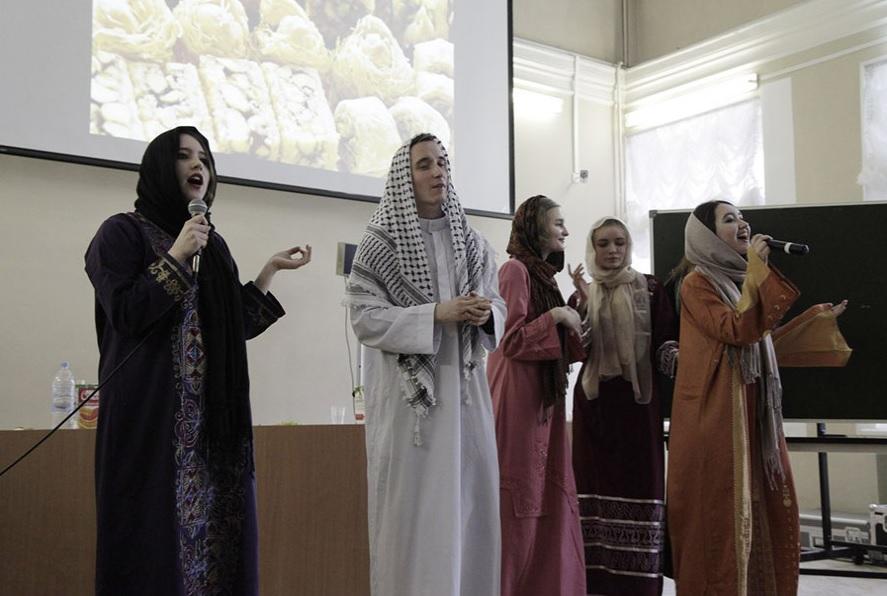 В СПбГУ прошел праздник арабского языка и культуры