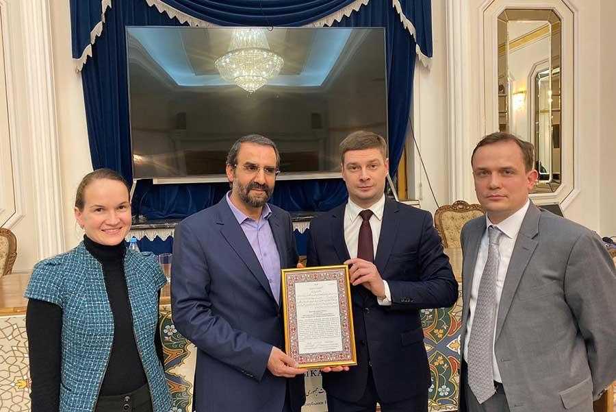Посол Ирана поблагодарил СПбГУ за вклад в продвижение иранистики